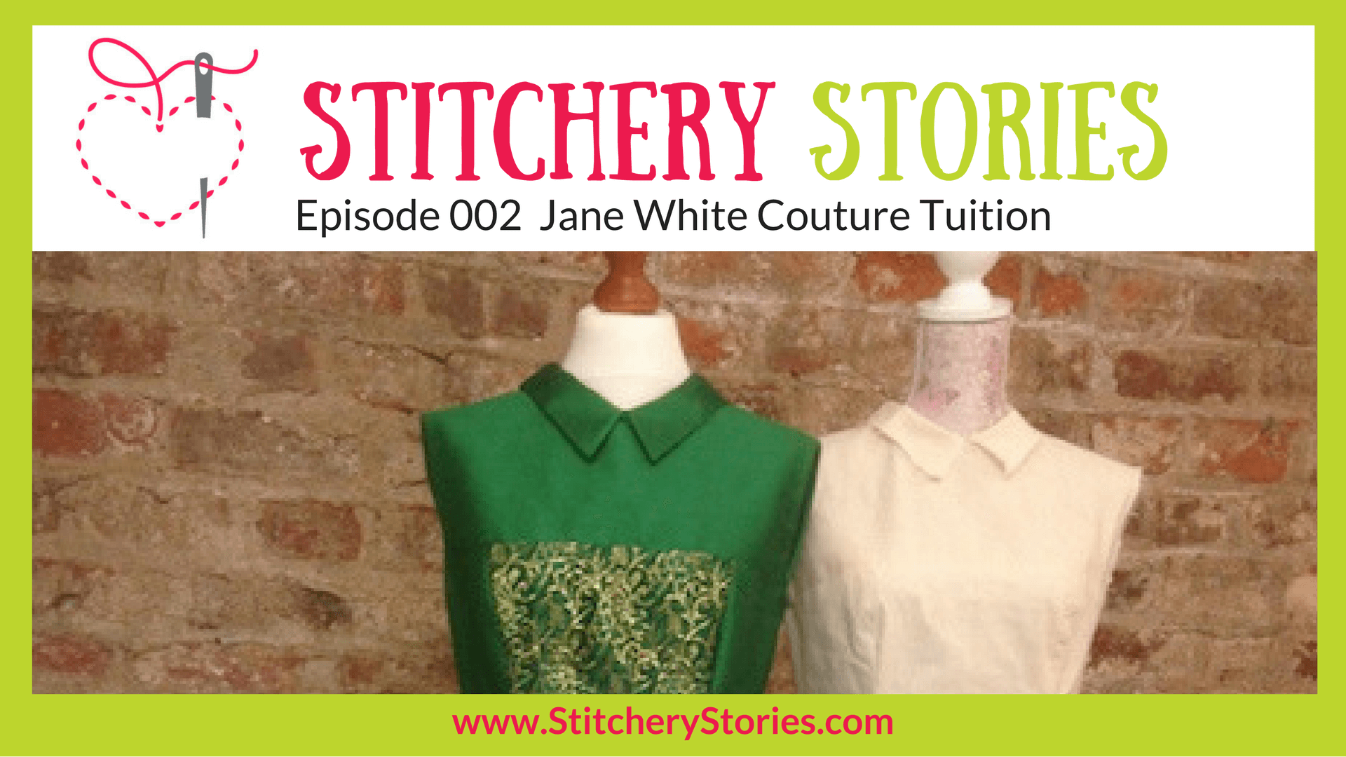 jane white stitchery stories podcast guest