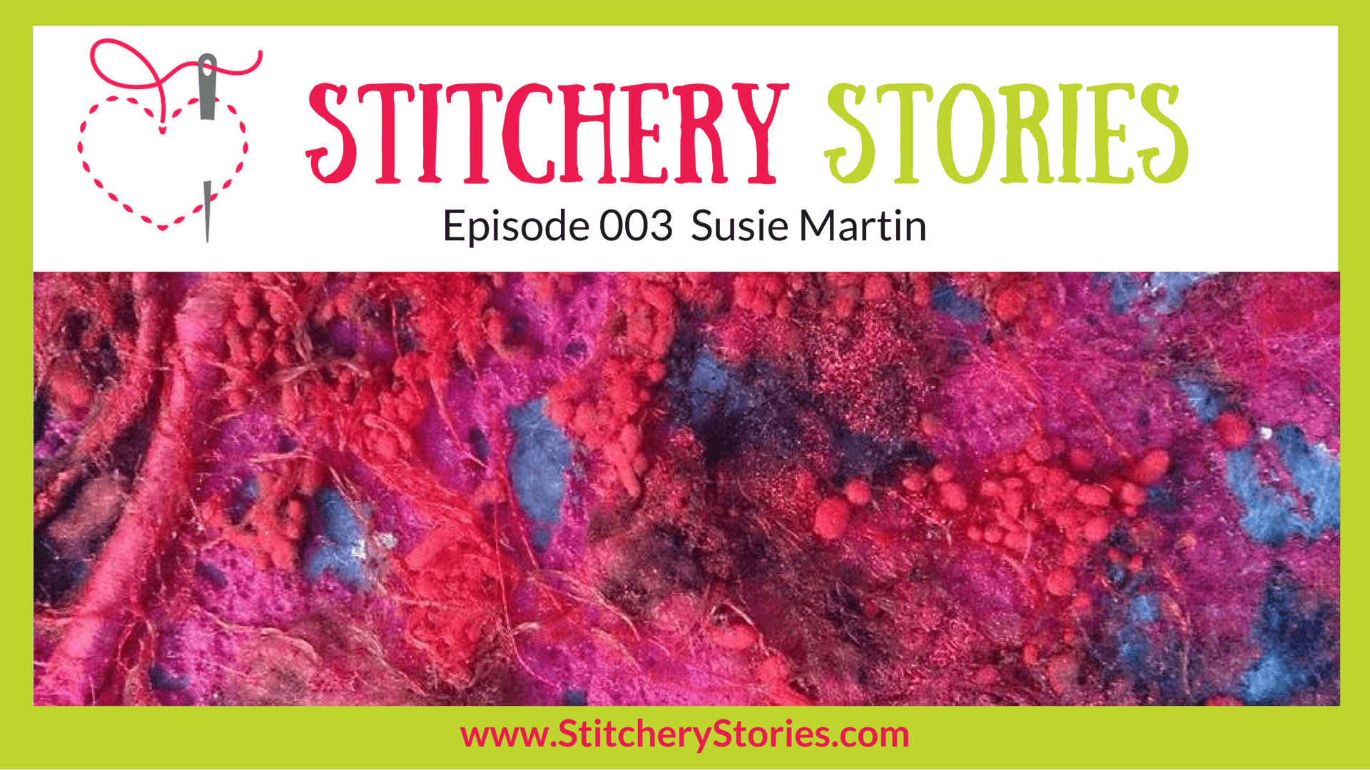 susie martin stitchery stories podcast guest