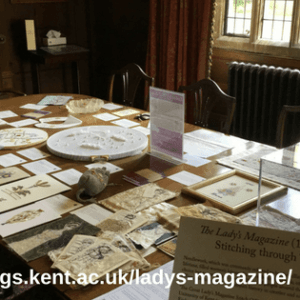 Dr Jennie Batchelor The Great Lady's Magazine StitchOff Exhibition (1)