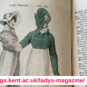 Dr Jennie Batchelor The Lady's Magazine fashion plate July 1812
