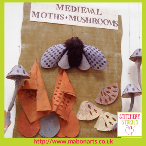 Chris Gray Textile Artist Moths and Mushrooms Stitchery Stories Podcast (1)
