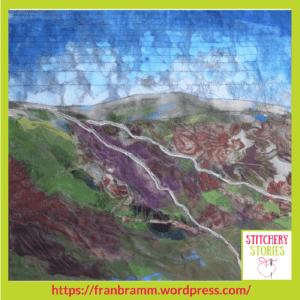 Fran Brammer Textile Artist Landscape 1 Stitchery Stories Textile Art Podcast