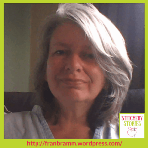 Fran Brammer Textile Artist Stitchery Stories Textile Art Podcast Guest
