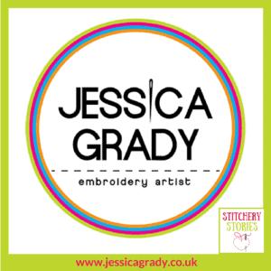 Jessica Grady Logo Stitchery Stories Textile Art Podcast Guest