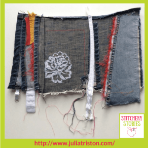 Julia Triston Textile Artist Behind the Seams 1 Stitchery Stories Textile Art Podcast