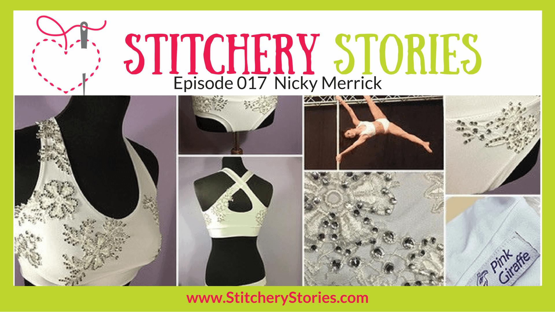 Nicky Merrick Stitchery Stories Textile Art Podcast Wide Art