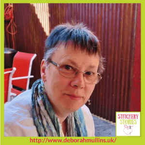 Deborah Mullins Stitchery Stories Textile Art Podcast Guest