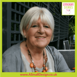 Ann Small Stitchery Stories Textile Art Podcast Guest