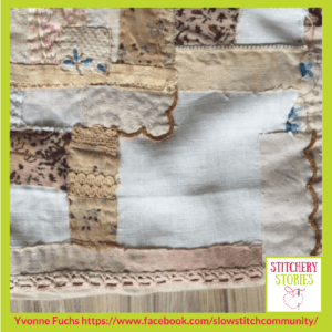 Slow Stitch 2 Yvonne Fuchs _ Stitchery Stories Textile Art Podcast Guest