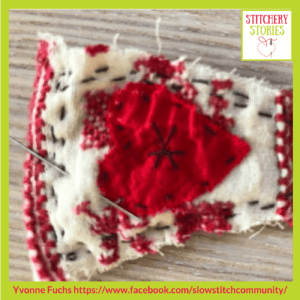 Slow Stitch 4 Yvonne Fuchs _ Stitchery Stories Textile Art Podcast Guest