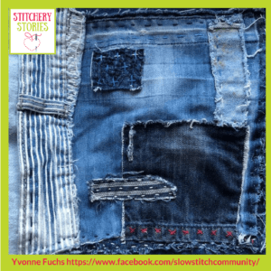 Slow Stitch 5 Yvonne Fuchs _ Stitchery Stories Textile Art Podcast Guest