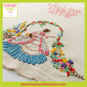 Nora Mills by Hayley Mills-Styles Stitchery Stories Textile Art Podcast Guest