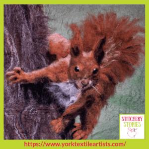 Alison Spaven York Textile Artists group_ Stitchery Stories Textile Art Podcast Guest