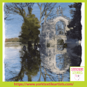 Bridget Bernadette Karn York Textile Artists group_ Stitchery Stories Textile Art Podcast Guest