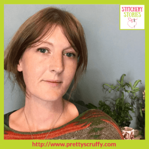 Bryony Rose Jennings Stitchery Stories Textile Art Podcast Guest