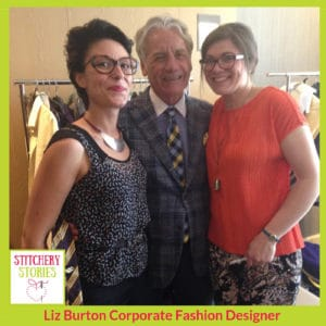 Collaboration with Jeff Banks_ Liz Burton Stitchery Stories Podcast Guest