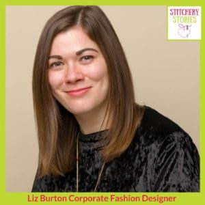 Liz Burton Stitchery Stories Podcast Guest
