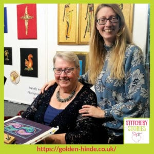 Sarah Rakestraw Stitchery Stories Textile Art Podcast Guest