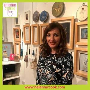 Helen McCook Stitchery Stories Podcast Guest