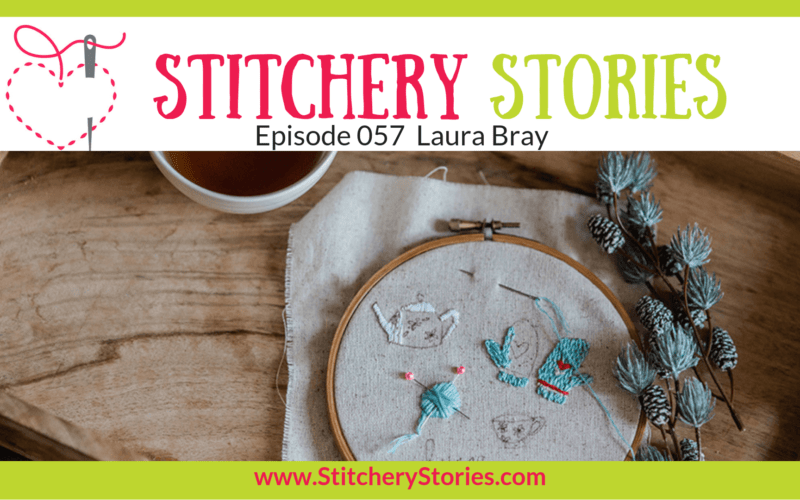 Laura Bray Stitchery Stories Textile Art Podcast Wide Art