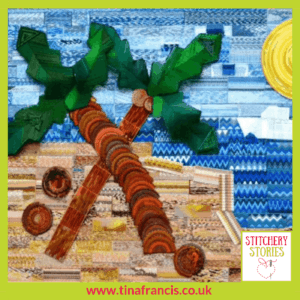 Stirchley Baths Tapestry Mural Tina Francis Stitchery Stories Embroidery Podcast Guest