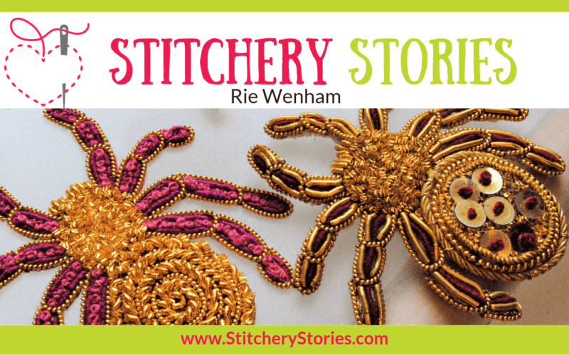 Rie Wenham Stitchery Stories Textile Art Podcast Wide Art