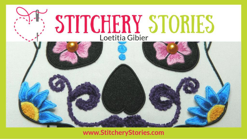 Loetitia Gibier Stitchery Stories Textile Art Podcast Wide Art