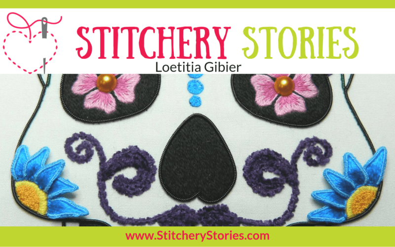 Loetitia Gibier Stitchery Stories Textile Art Podcast Wide Art
