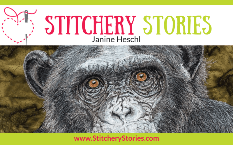 Janine Heschl Stitchery Stories Textile Art Podcast Wide Art