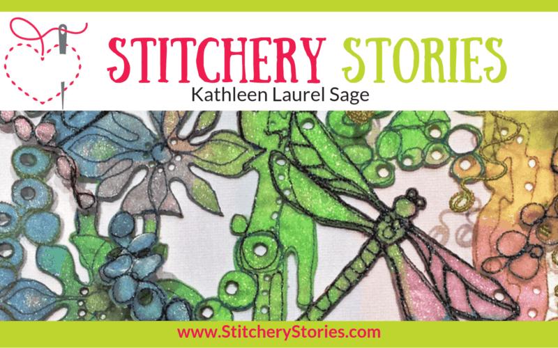 Kathleen Laurel Sage Stitchery Stories Textile Art Podcast Wide Art