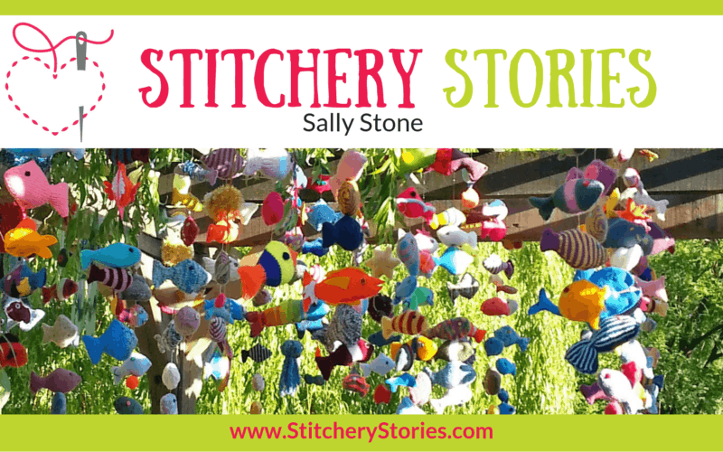 Sally Stone Stitchery Stories Textile Art Podcast Wide Art