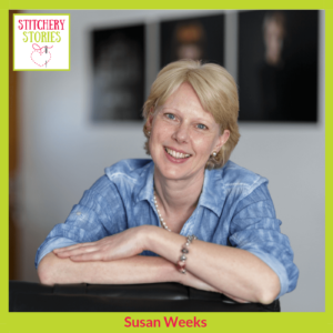 Susan Weeks Stitchery Stories Podcast Host