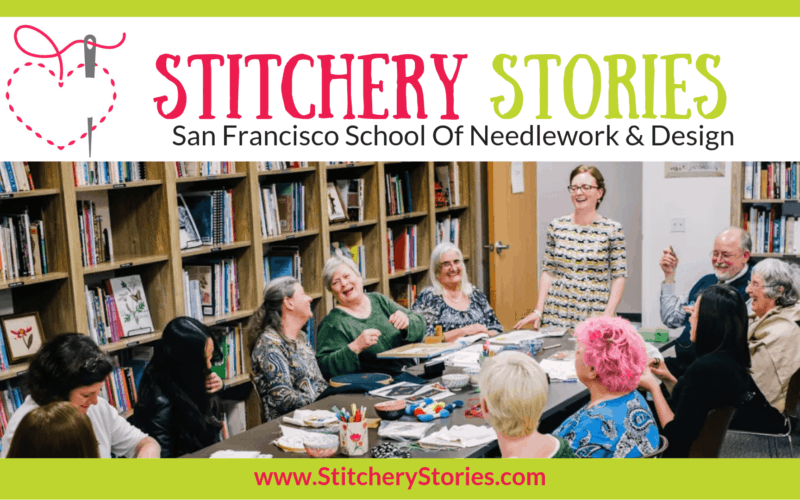 SFSNAD Stitchery Stories Textile Art Podcast Wide Art