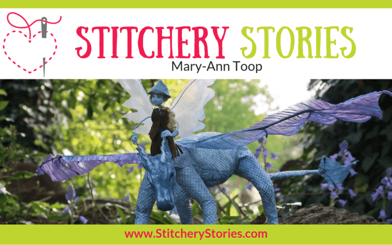 Mary-Ann Toop Stitchery Stories Textile Art Podcast Wide Art