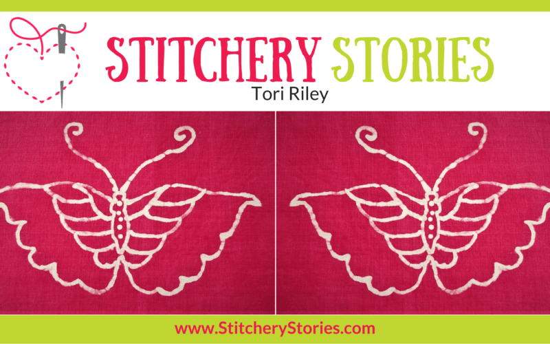 Tori Riley Stitchery Stories Textile Art Podcast Wide Art