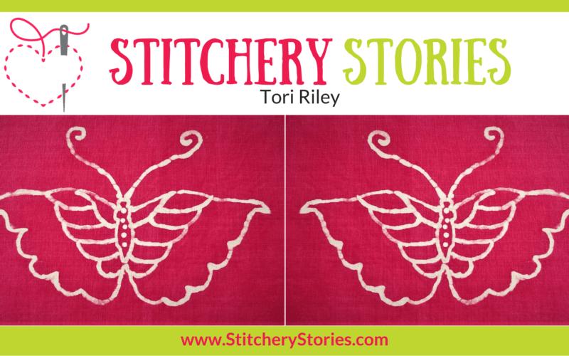 Tori Riley Stitchery Stories Textile Art Podcast Wide Art