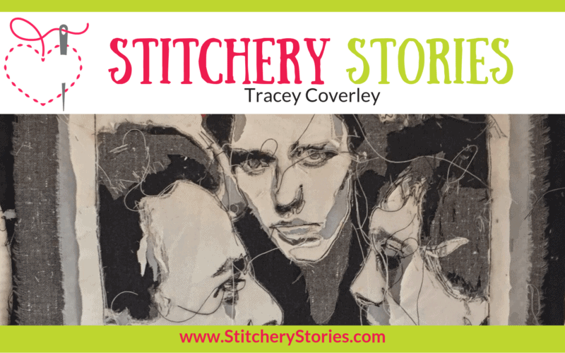 Tracey Coverley Stitchery Stories Textile Art Podcast Wide Art