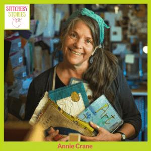 Annie Crane Stitchery Stories Podcast Guest