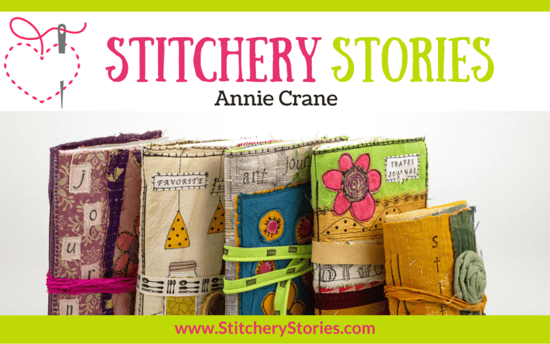 Annie Crane guest Stitchery Stories textile art podcast Wide Art