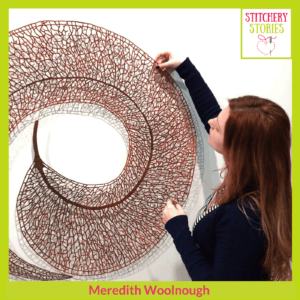 Meredith Woolnough Stitchery Stories Podcast Guest