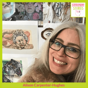 Alison Carpenter-Hughes Stitchery Stories Podcast Guest