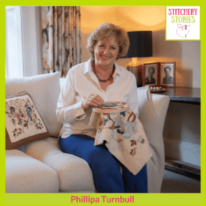 Phillipa Turnbull Stitchery Stories Podcast Guest