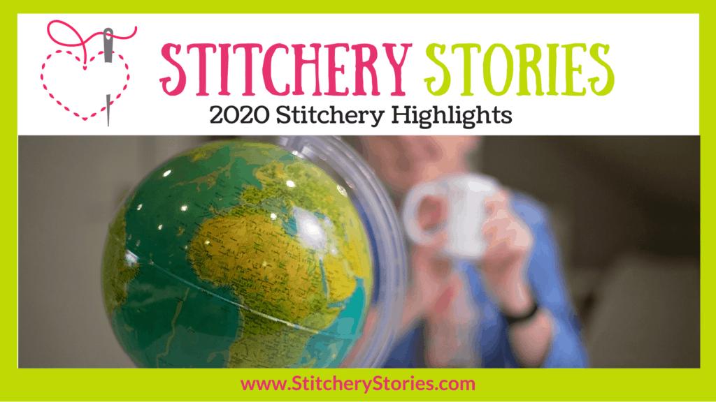 2020 stitchery highlights Stitchery Stories embroidery podcast Wide Art