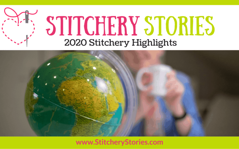 2020 stitchery highlights Stitchery Stories embroidery podcast Wide Art