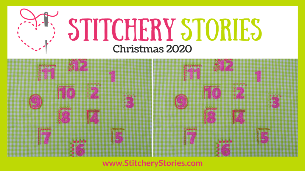 Christmas 2020 Stitchery Stories embroidery podcast Wide Art