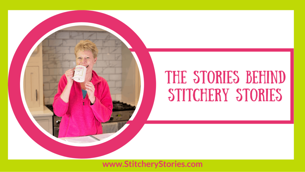 Susan Weeks Stitchery Stories podcaster