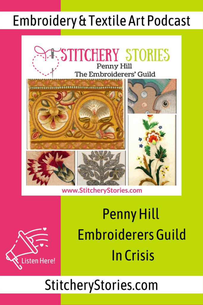 textile art inspiration Pin Stitchery Stories ep107