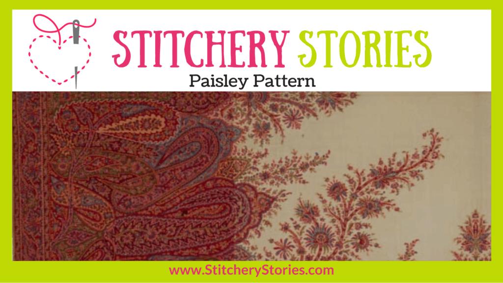 Paisley Pattern guest Stitchery Stories textile art podcast Wide Art