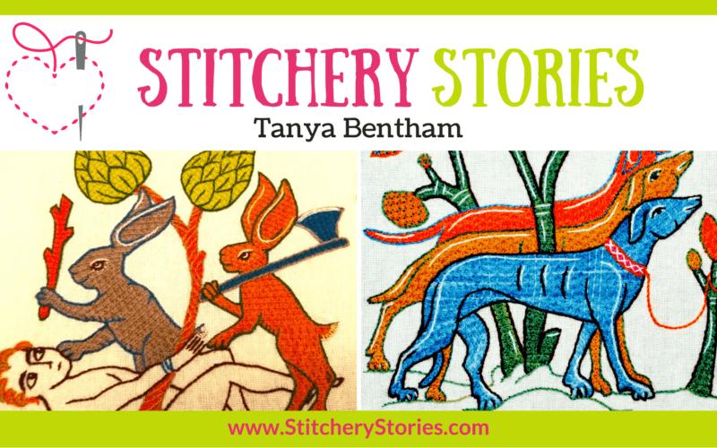 Tanya Bentham guest Stitchery Stories textile art podcast Wide Art